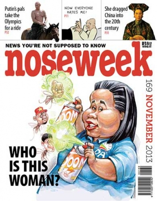 Noseweek Cover 169