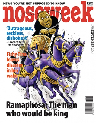Noseweek Cover 179