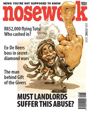 Noseweek Cover 188