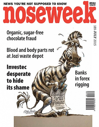 Noseweek Cover 189