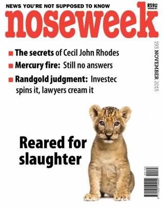 Noseweek Cover 193