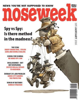 Noseweek Cover 195