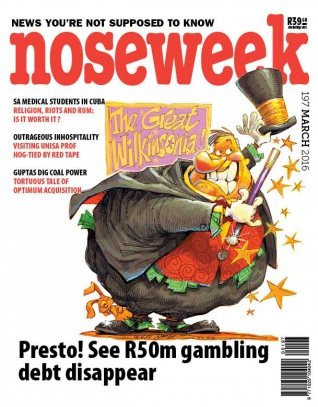 Noseweek Cover 197