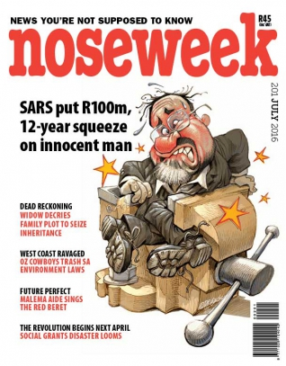 Noseweek Cover 201