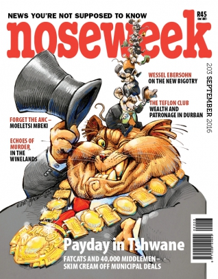 Noseweek Cover 203
