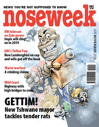 Noseweek Cover 205