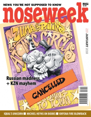 Noseweek Cover 219