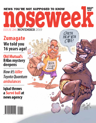 Noseweek Cover 241