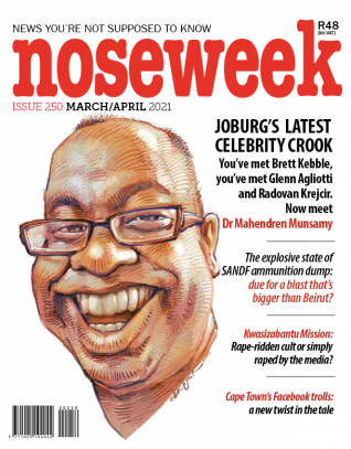 Noseweek Cover 250