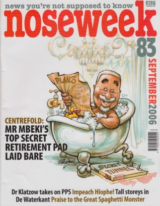 Noseweek Cover 83