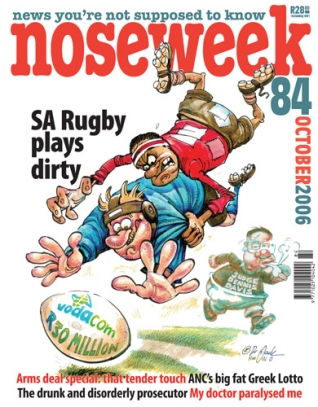 Noseweek Cover 84
